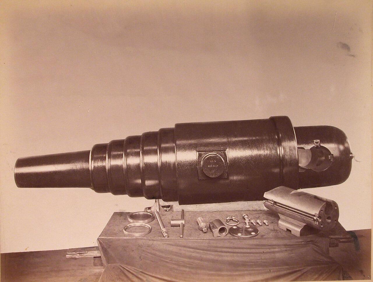 22. Общий вид стального 9-дюймового орудия