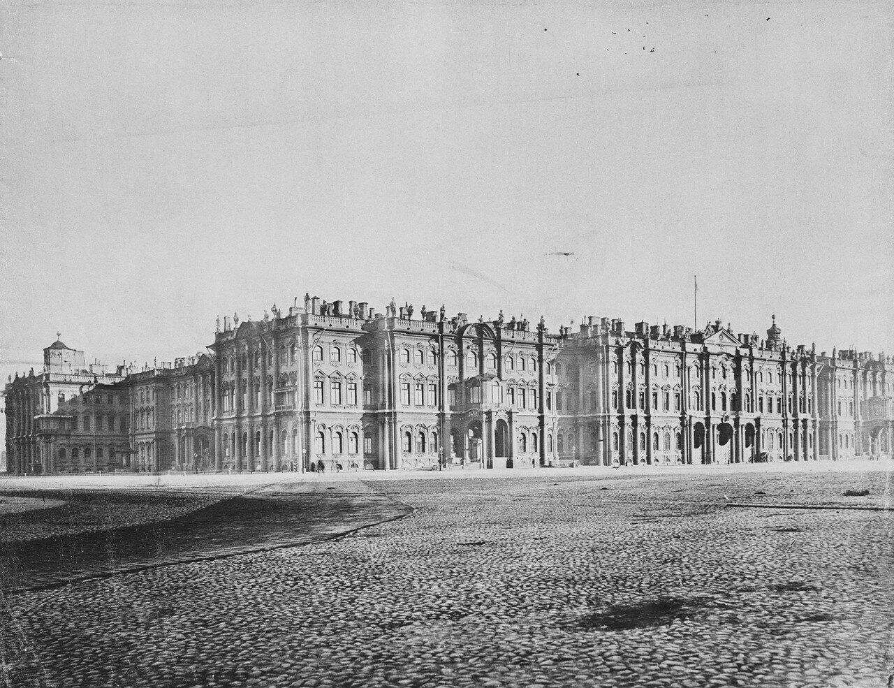 Вид на Зимний Дворец.1899