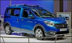 Dacia представит 2 новые модели в Париже
