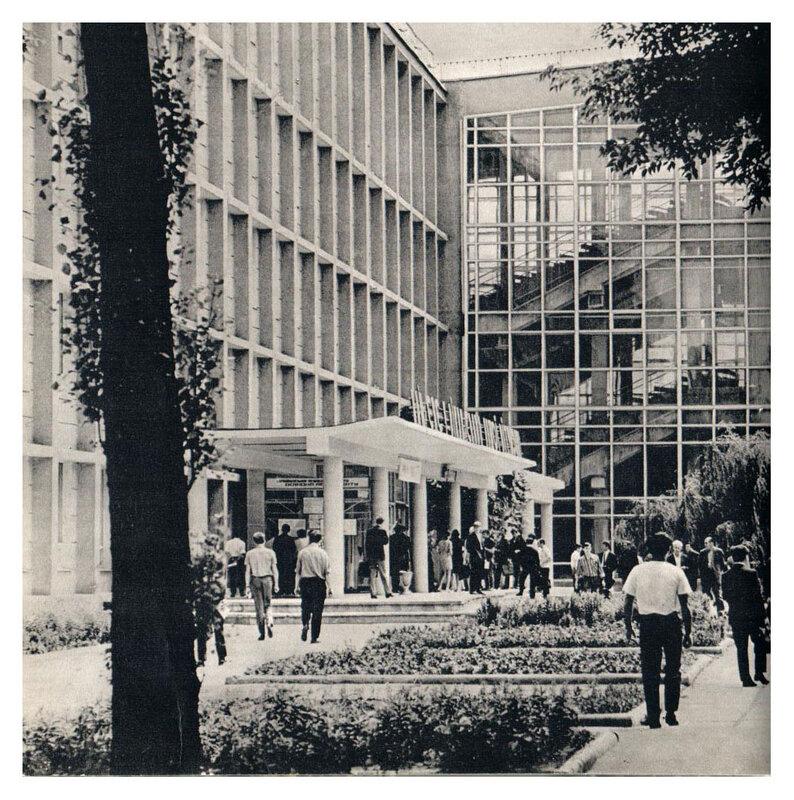 Один из корпусов политехнического института