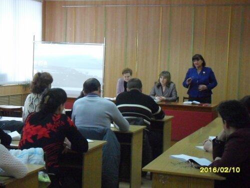В Моргаушском районе прошло заседание Совета и семинар с председателями первичных профсоюзных организаций