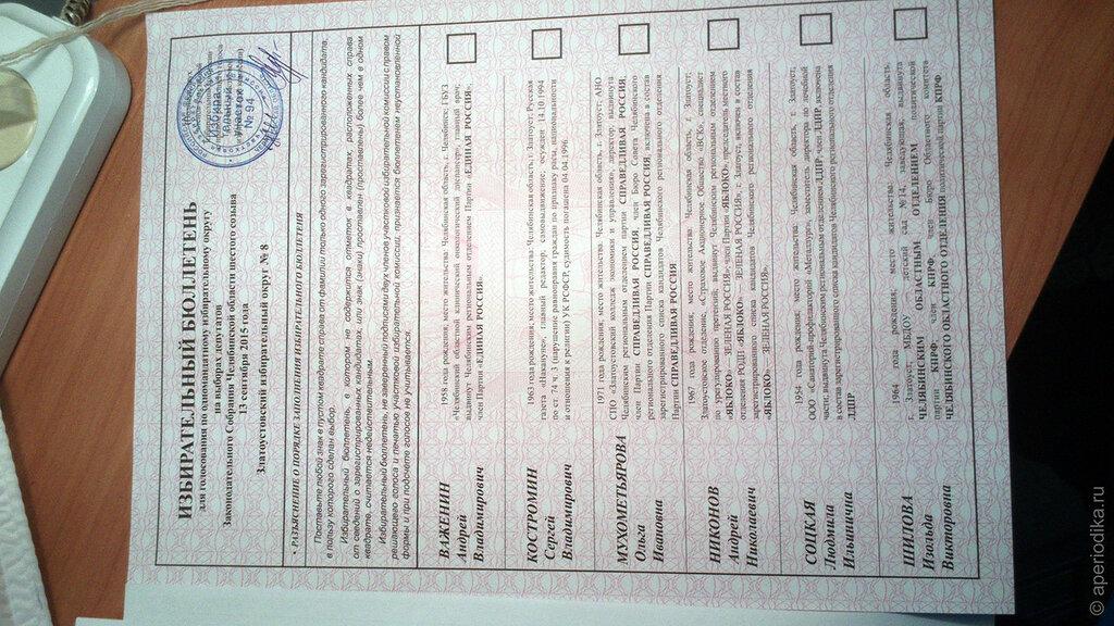 13 сентября 2015. Выборы в Златоусте