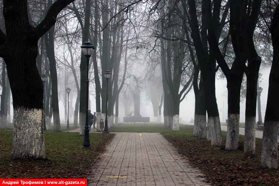Сергиев Посад - самое холодное место Подмосковья