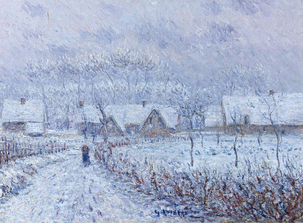 Gustave Loiseau - Wind with Snow, 24 March 1899, Saint-Cyr-du-Vaudreuil, 1899.jpeg