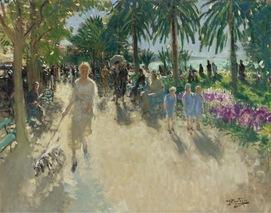 Pierre-Eugene Montezin - La Croisette, Cannes.jpeg