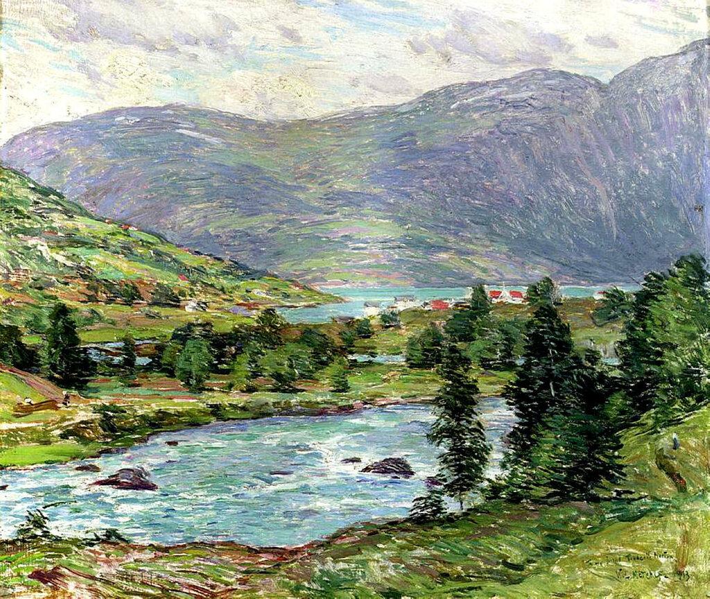 Mountain Lakes, Olden, Norwas, 1913.jpeg