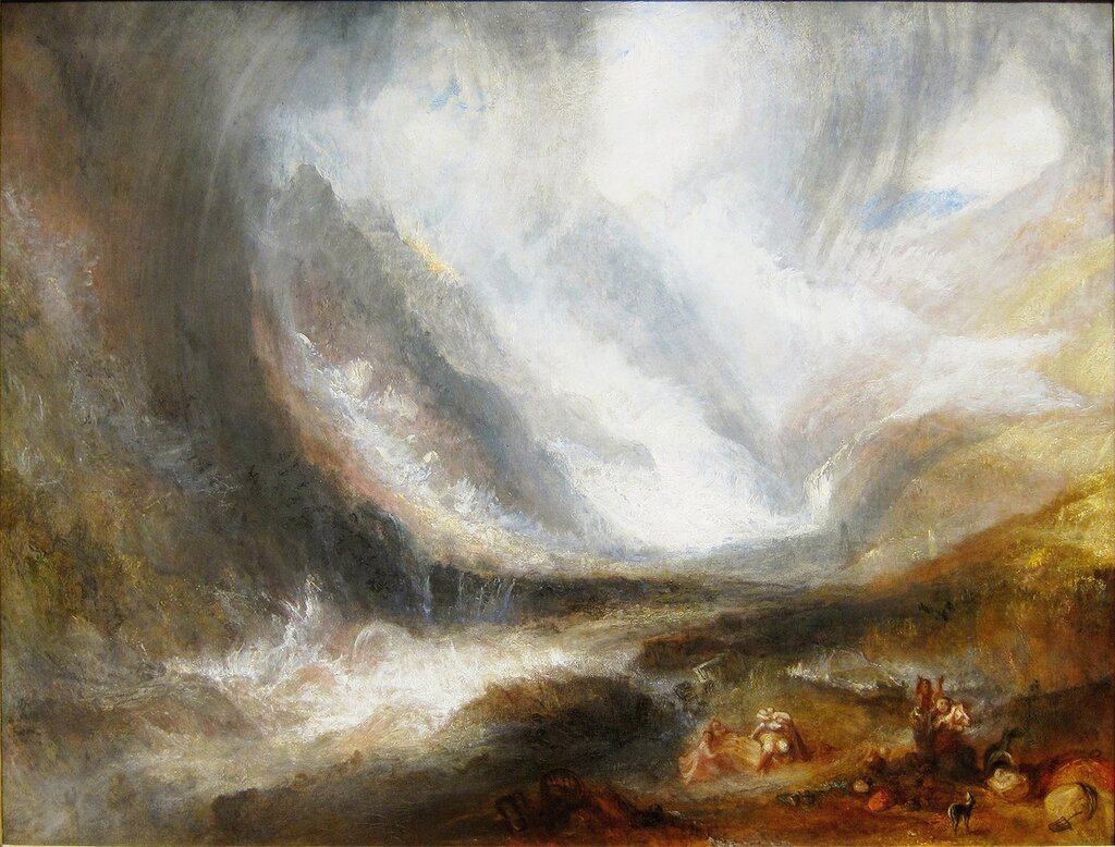Valley of Aosta - Snowstorm, Avalanche and Thunderstorm, 1837-38.JPG