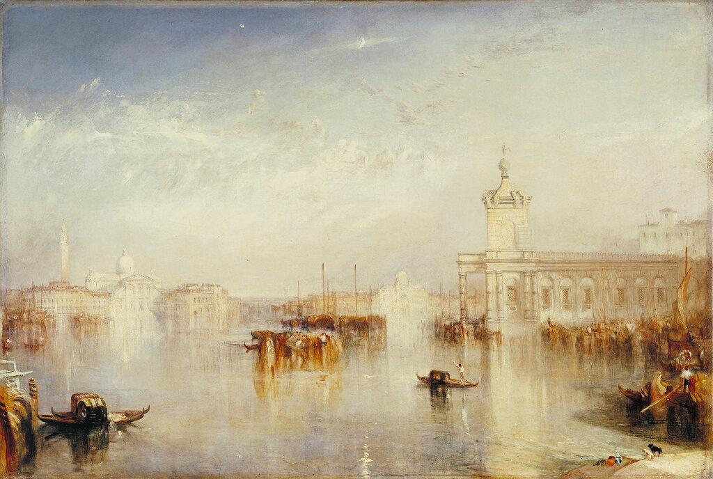 Venice, Dogano, San Giorgio, Citella from the Steps of the Europa, 1842.jpg