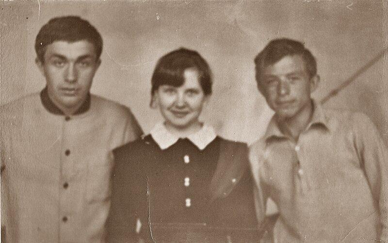 Выпускники 1971.