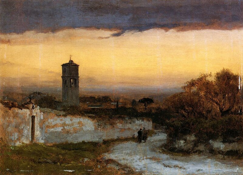 Monastery at Albano