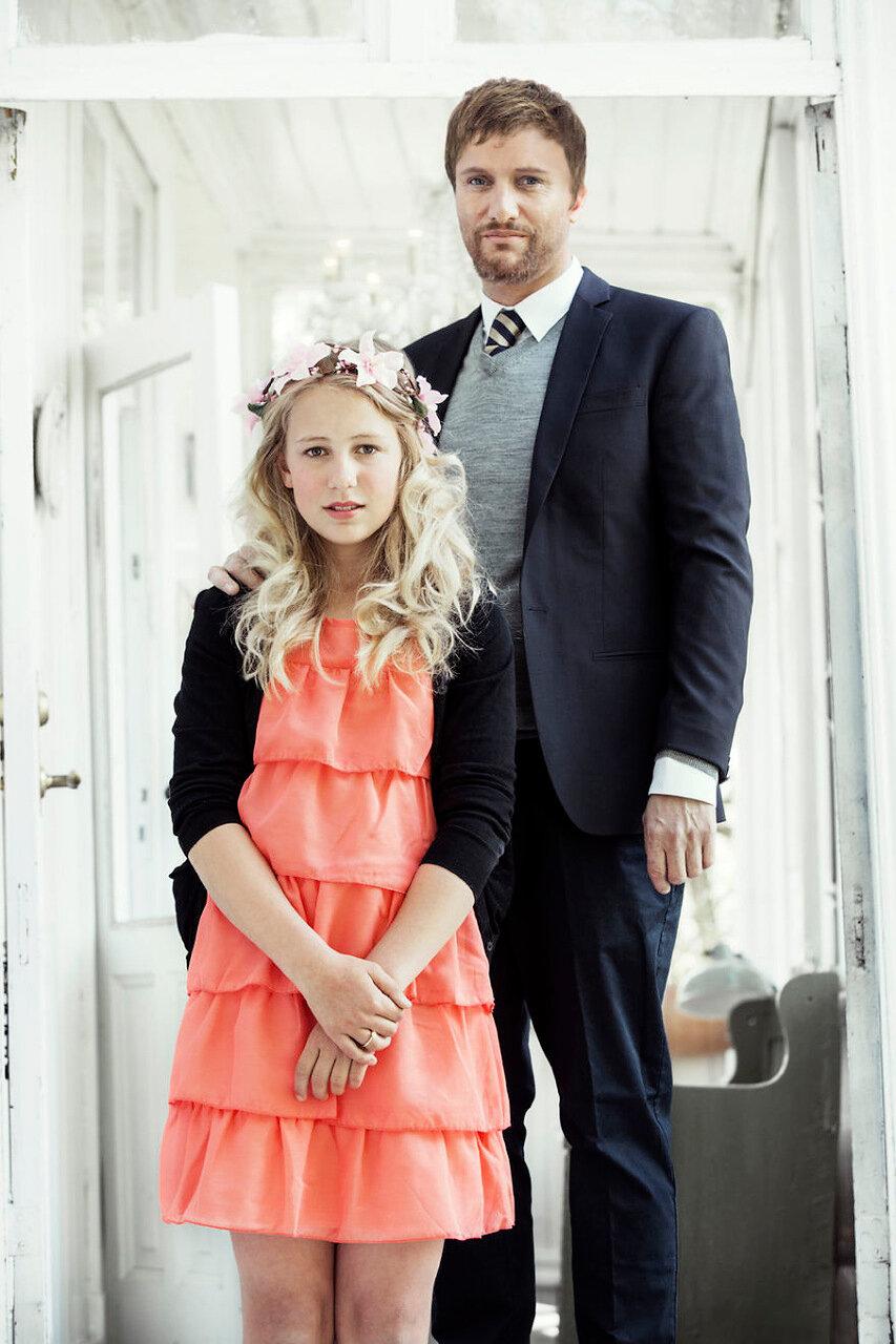 Норвегия. Первая детская свадьба.