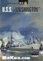 Журнал ModelCard 070 USS Washington