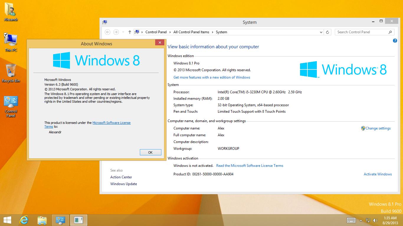 Ключ Windows 8.1 9600 Для Одного Языка