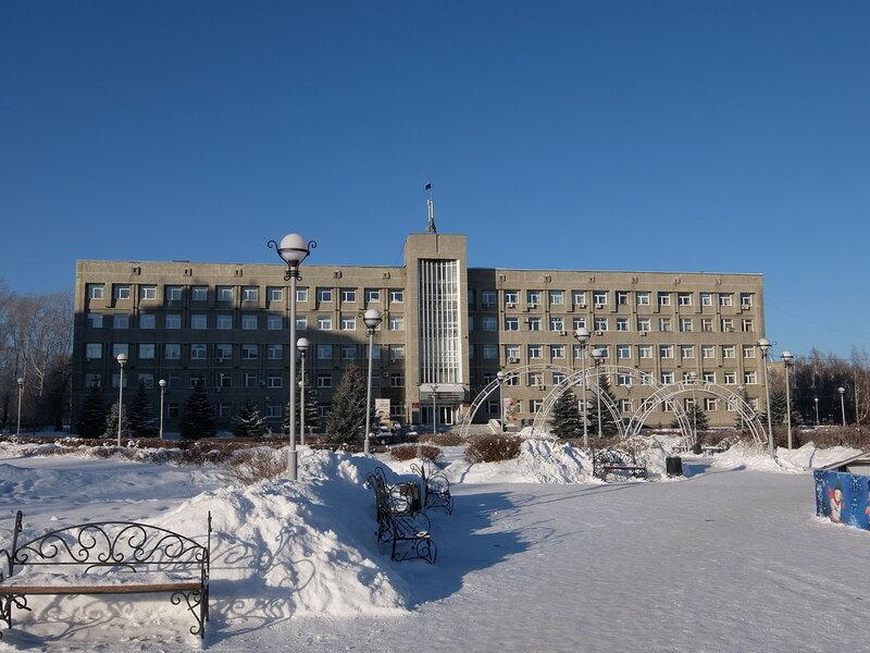 Юрга - Здание администрации