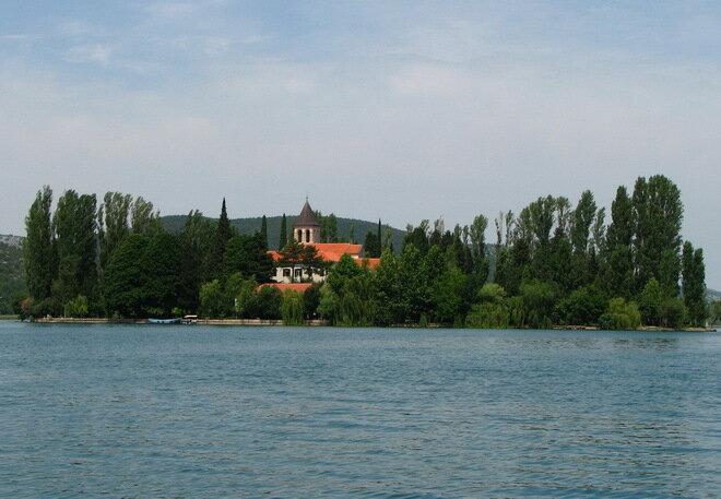 Монастырь Висовац. Хорватия