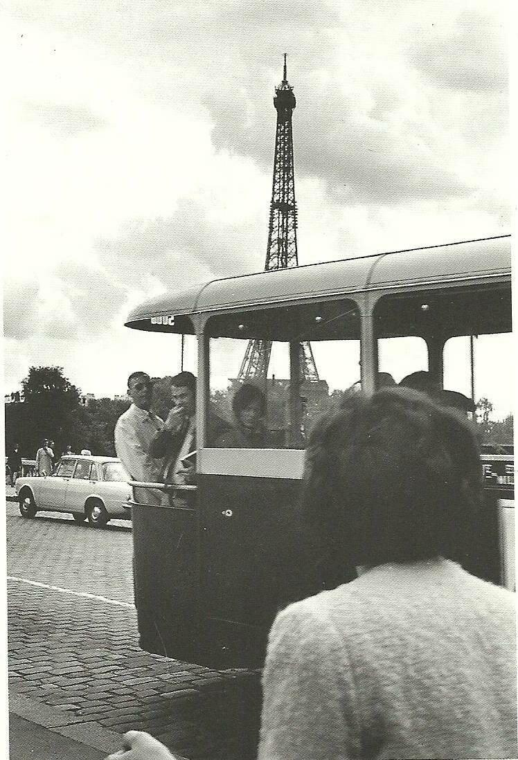 Автобусная экскурсия к Эйфелевой башне
