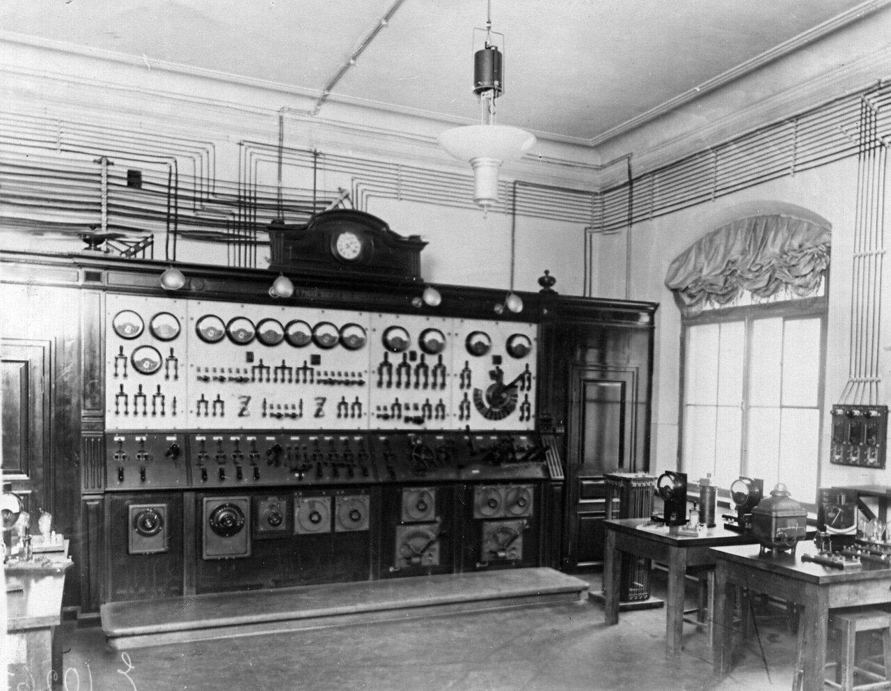 39. Автоматическое управление (щиты управления)