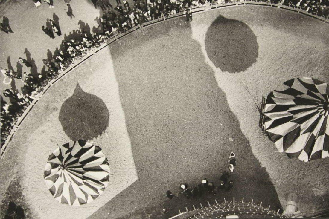 1930. Парк Горького. Вид с парашютной вышки, Москва