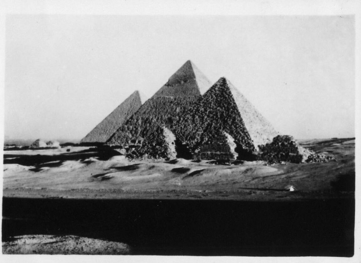 Гиза. Пирамиды. 1930-е.