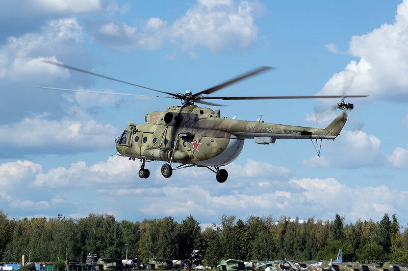 Миль Ми-8МТ (RF-90948 / 62 красный) D800441