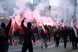 От беспорядков в Варшаве пострадали 50 человек