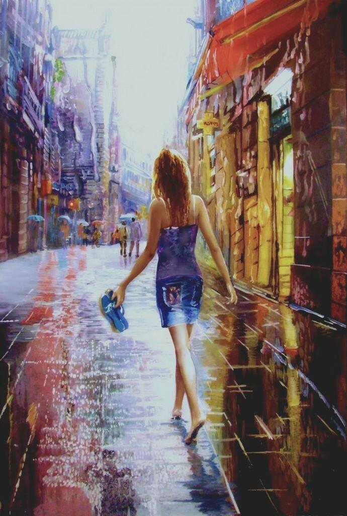 Дарья Чачева. Вхождение в дождь.jpg