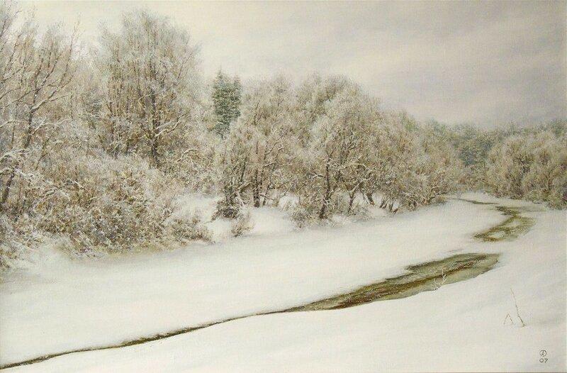 Олег Анастасов. Зима в Авдотьине.jpg