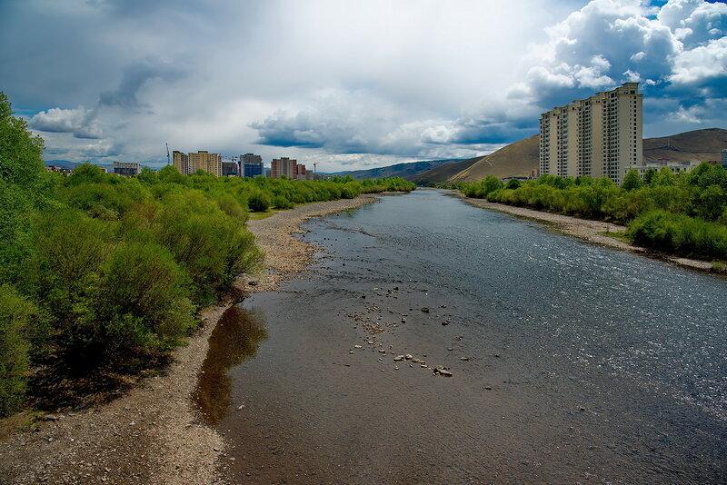 Река любимая столицей.