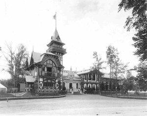 Фасад дачи графини М.Э.Клейнмихель.