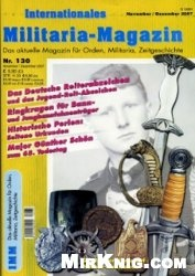 Журнал Internationales Militaria-Magazin 130