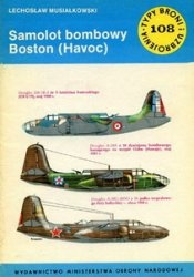 Книга Samolot bombowy Boston (Havoc) [Typy Broni i Uzbrojenia 108]