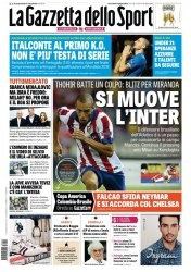 Журнал La Gazzetta dello Sport  (17 Giugno 2015)