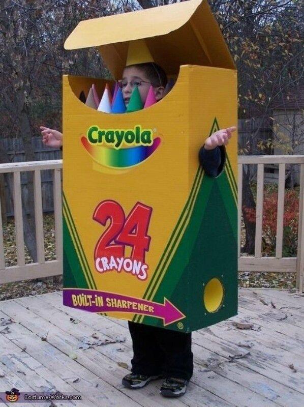 Бумажные карнавальные костюмы