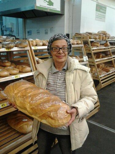 Съездили за хлебушком