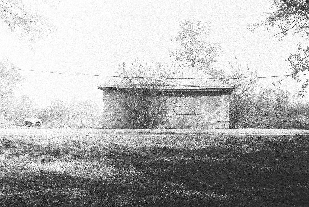 1981. Снимок второй из серии панорама улицы Большой, после сноса