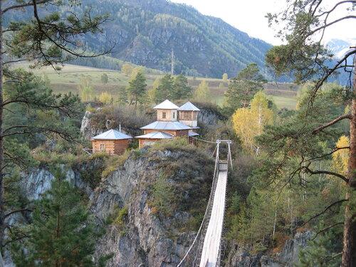 Остров Патмос, село Чемал, Горный Алтай.