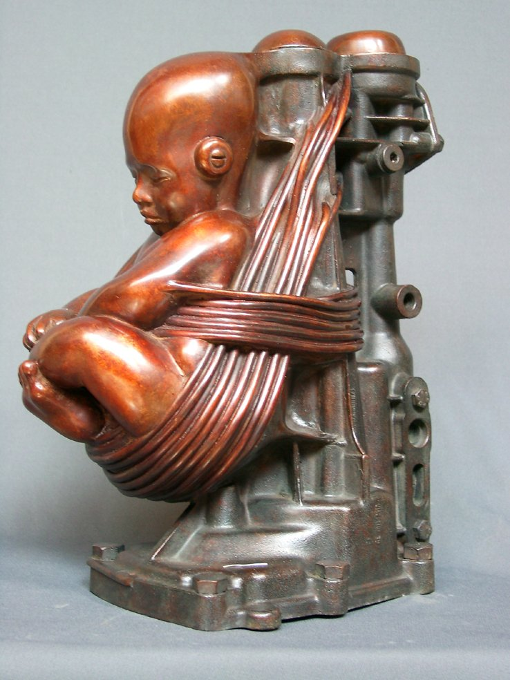 Скульптуры из метала от Pierre Matter