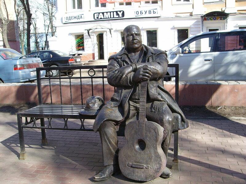 Памятник М.Кругу в Твери