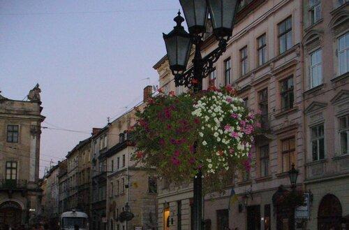 Летний вечер на площади Рынок