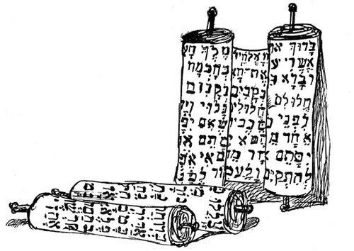 Jewish Symbols - Scrolls