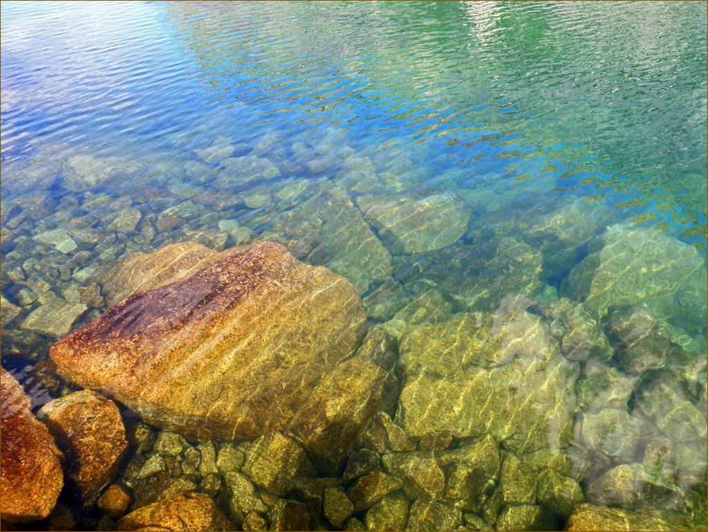 Сокровища Цветных озёр