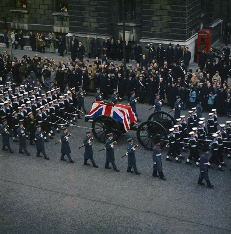 1965 30 jan The state funeral of Sir Winston Churchill London.jpg
