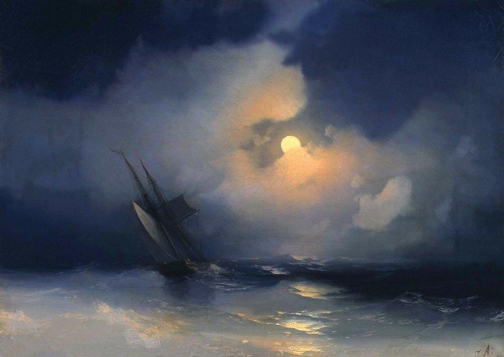 Буря на море лунной ночью.jpg
