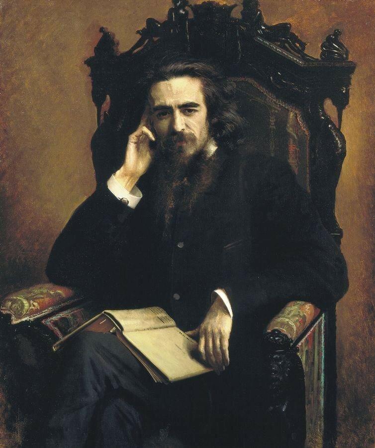 Портрет философа Владимира Сергеевича Соловьёва. 1885.jpg