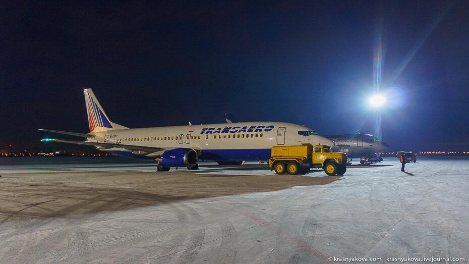 омский аэропорт, трансаэро