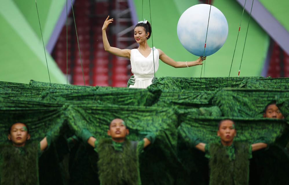 Красивые фотографии открытия XV чемпионата легкой атлетики в Пекине 0 13ff57 dad4afc2 orig