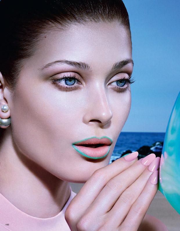 Ларисса Хофманн (Larissa Hofmann) в журнале Vogue Japan (5 фото)