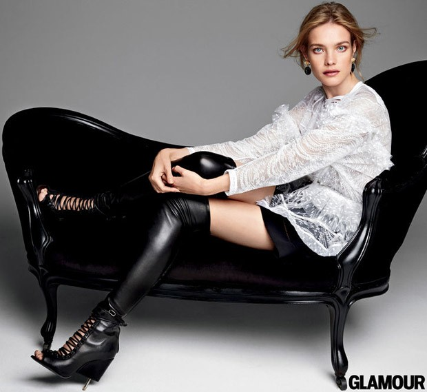 Наталья Водянова (Natalia Vodianova) в журнале American Glamour (5 фото)
