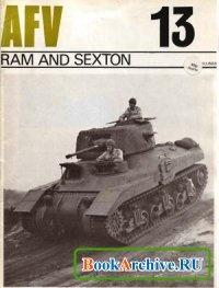 Книга AFV Weapons Profile No. 13: Ram and Sexton.