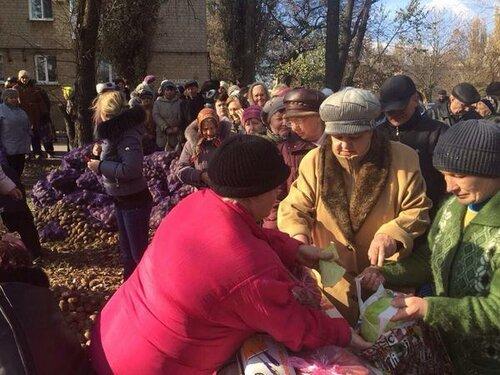Как Донбасс на колени поставили